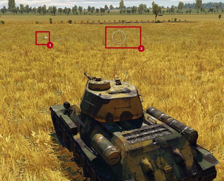aiming tanks war thunder